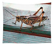 Colorful Grasshopper Tapestry