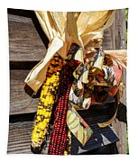 Colorful Indian Corn Decorations Tapestry
