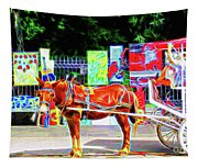Colorful New Orleans Tapestry