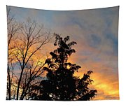 Colorful Nightfall Tapestry