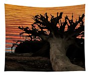 Colorful Roots Tapestry