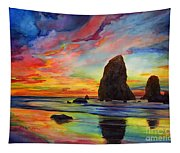 Colorful Solitude Tapestry
