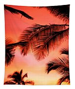 Colorful Sunset Tapestry