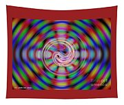 Colorful Water Drop Tapestry