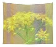 Colorful Wildflower Bouquet Tapestry