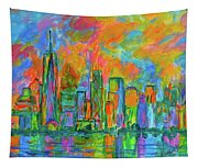 Coloring The Big Apple Tapestry