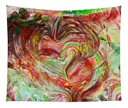 Colors Of Love Tapestry