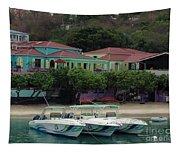 Colors Of St. John Us Virgin Islands Tapestry