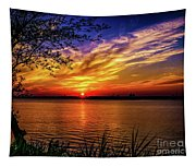 Colors Of Sunset Tapestry