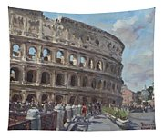 Colosseo Rome Tapestry