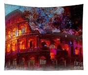Colosseum Rome Italy   Tapestry