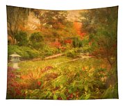 Colour Explosion In The Japanese Gardens Tapestry