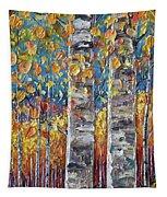 Colourful Autumn Aspen Trees By Lena Owens @olena Art Tapestry