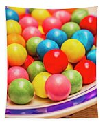 Colourful Bubblegum Candy Balls Tapestry