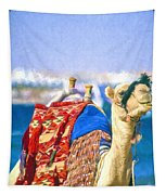 Colourful Camel Tapestry
