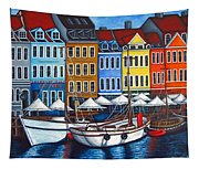 Colours Of Nyhavn Tapestry