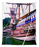 Columbus Day Celebration Tapestry