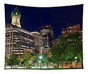 Columbus Park Boston View Tapestry