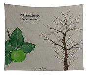 Common Apple Tree Id Tapestry