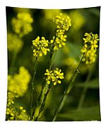 Common Wintercress Flowers Tapestry