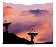 Communication Sunset Tapestry