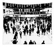 Commuter Art London Sketch Tapestry