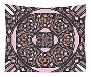 Complex Geometric Abstract Tapestry