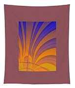 Complimentary Colors Tapestry