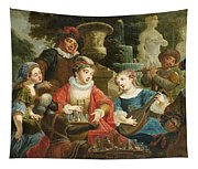 Concert In A Park Tapestry