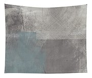 Concrete 3- Contemporary Abstract Art By Linda Woods Tapestry