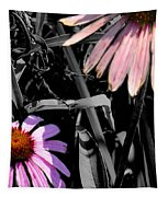 Cone Flower Tapestry Tapestry