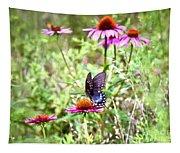 Coneflower Companion Tapestry