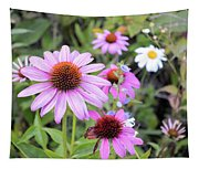 Coneflower Meadows Tapestry