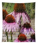 Cones In Craquelure Tapestry