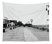 Coney Island Boardwalk Tapestry