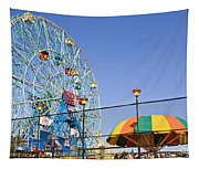 Coney Island Memories 6 Tapestry