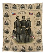 Confederate Generals Of The Civil War Tapestry