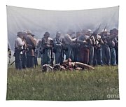 Confederate Infantry Skirmish  Tapestry