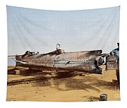 Confederate Submarine, Hunley Tapestry