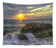 Connecticut Sunset Tapestry