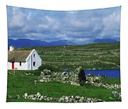 Connemara, Co Galway, Ireland Cottages Tapestry