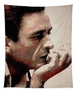 Contemplating Cash Tapestry