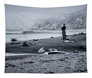 Contemplation - Beach - California Tapestry