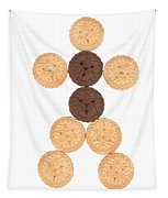 Cookie Man Tapestry