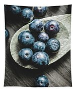 Cooking With Blueberries Tapestry