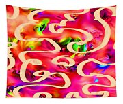 Cool Colors Tapestry