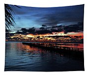 Cool Morning Rise  Tapestry
