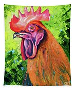 Copper Maran French Rooster Tapestry