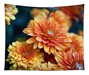 Copper Mums Tapestry