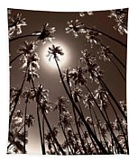 Coppertone Palms Tapestry